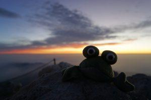 Amanecer en el pico del Teide