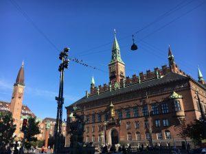 Rådhuspladsen, la plaza del ayuntamiento
