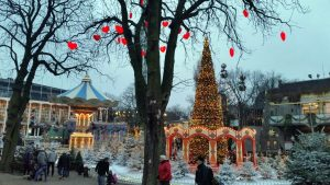 Los jardines de Tivoli en Navidad